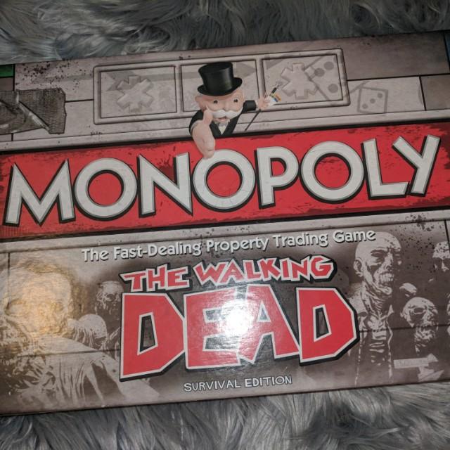 The walking dead monoply