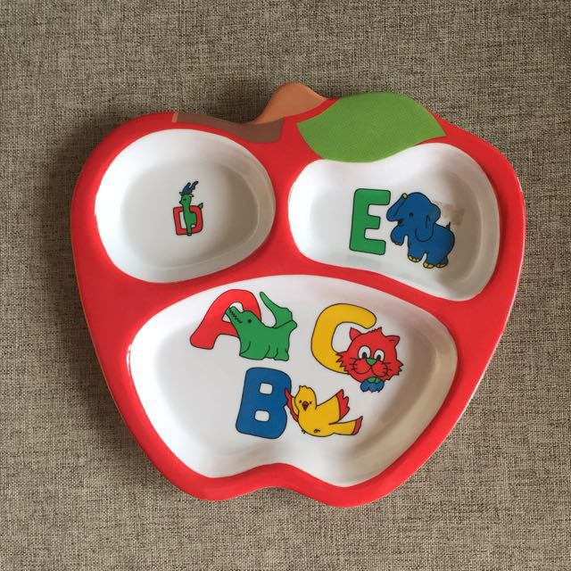 Toddler ABC Training Plate