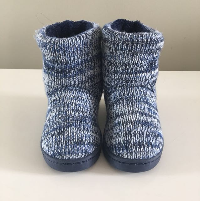 Toddler Blue Warm Ugg Boots