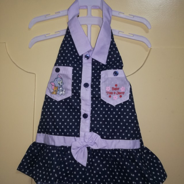 Tom & Jerry Baby Halter Dress 0-3mos