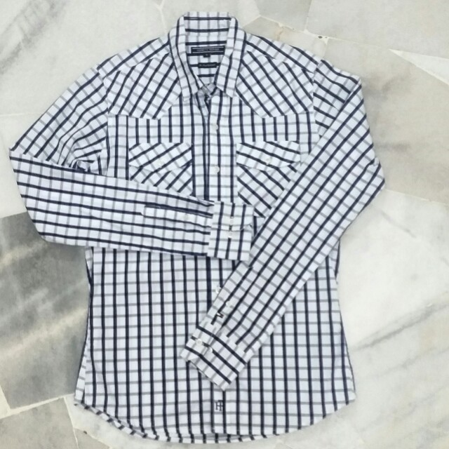 TOMMY HILFIGER CHECKER TOPS