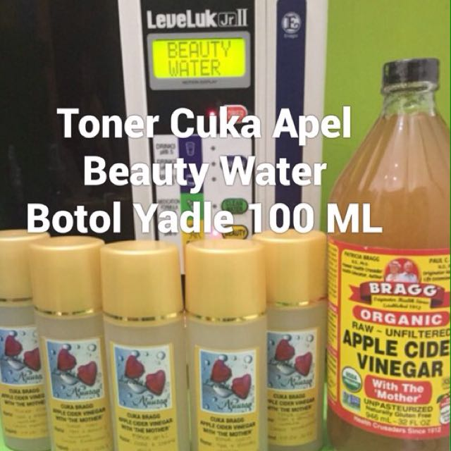 toner cuka apel BRAGG mix beauty water 100 ml