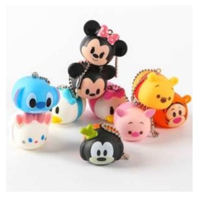 💟全新品💟迪士尼tsum tsum疊疊樂/啾啾球/BB球/擺件吊飾/軟款港版(非日版)