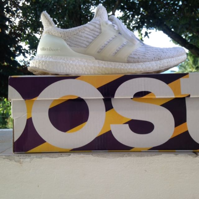 Ultra boost 3.0 triple white (REPLICA), Men's Fashion
