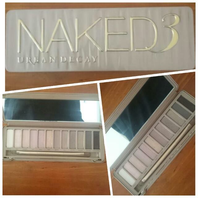 Urban Decay Naked 3 Eyeshadow Pallette