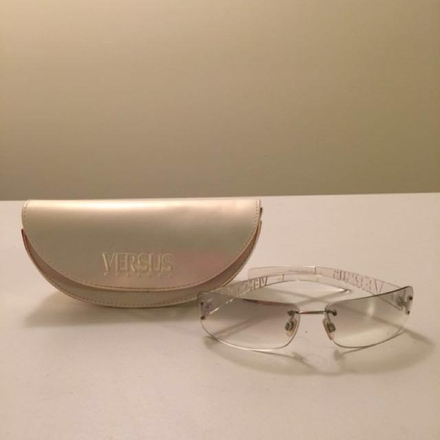 Versace eyeglass/sunglass