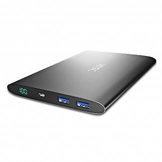 Vinsic 20000mAh Power Bank with Dual Output Ports