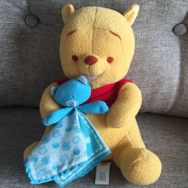 Winnie The Pooh Musical Plush Doll