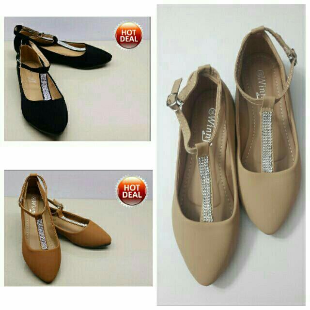 Winny trendy flat shoes