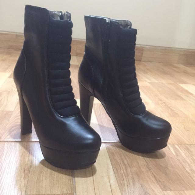 Woman's Boots - Boots Wanita - Heels Import