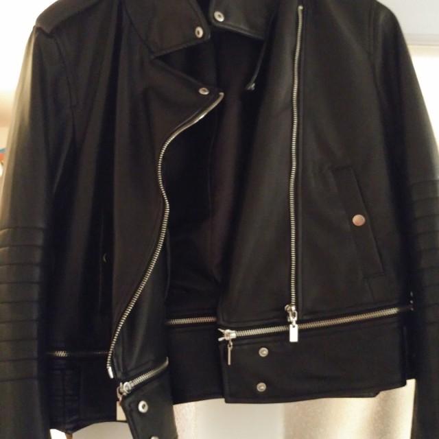 Zara Women's Biker Jacket.