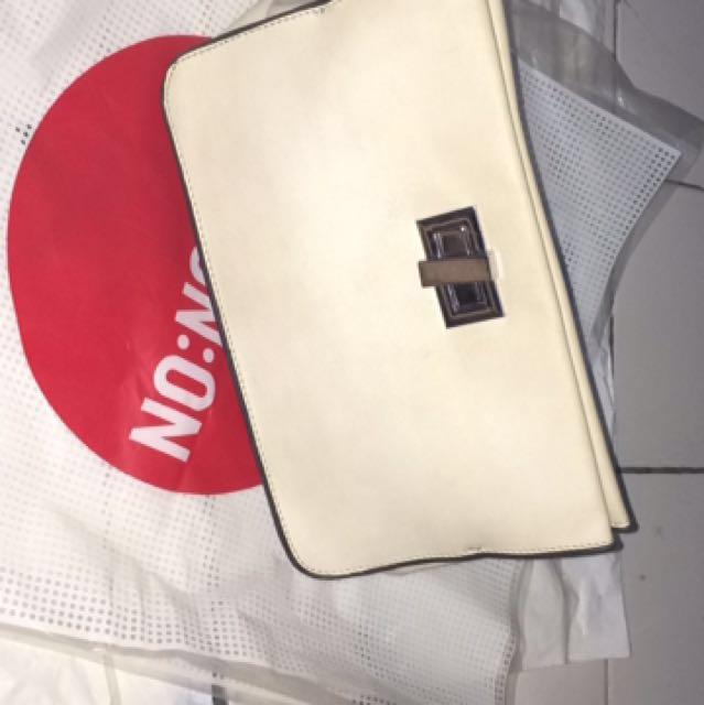 Zara trf sling bag Or Clutch