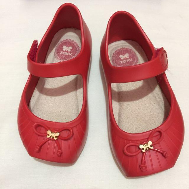 Zaxy ballet red