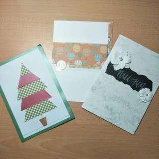 Handmade Decorated Cards