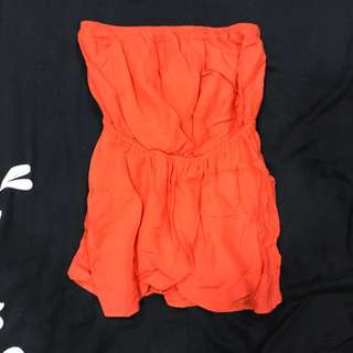 ASOS tube top size S stretchable