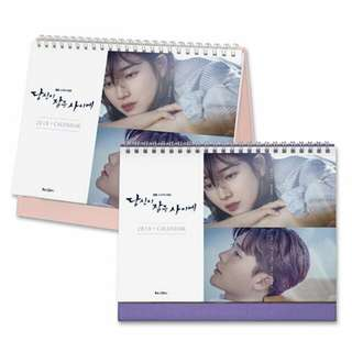WHILE YOU WERE SLEEPING 2018 CALENDER : SUZY, LEEJONGSUK
