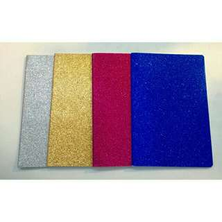 Glittered Notebook