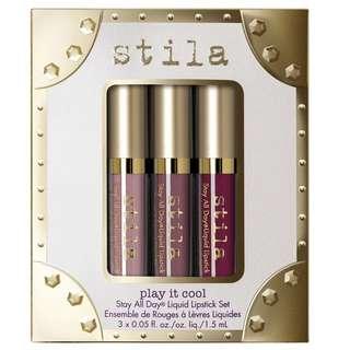 Stila Stay All Day Play It Cool Liquid Lipstick Set
