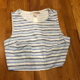 Forever 21 crop yacht top