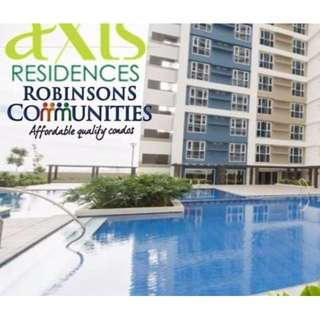 Axis Residences . Studio Condo Unit in Mandaluyong No Downpayment Flexible Payment Terms
