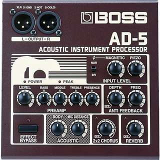 Boss AD 5 acoustic di effects