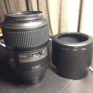 Nikon AF-S 105 mm 2.8 Micro Nikkor *price drop*