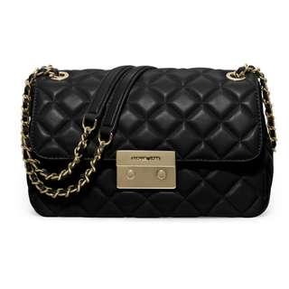 全新保証正品Michael Kors Sloan Quilted Leather Large Shoulder Bag MK 女裝 菱格紋 小羊皮 手袋 名牌 聖誕禮物 #SELLMY1111