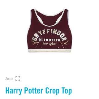 🌹 HARRY POTTER CROP UPPER TOP