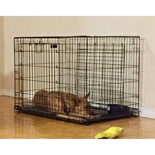 """Top Paw Double Door Wire Dog Crate - 42"""" - $100 OBO"""
