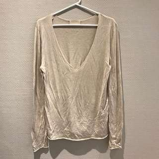 Zadig and Voltaire silk and cashmere sweater
