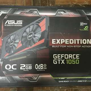 Asus GTX 1050 OC Expedition 2gb DDR5