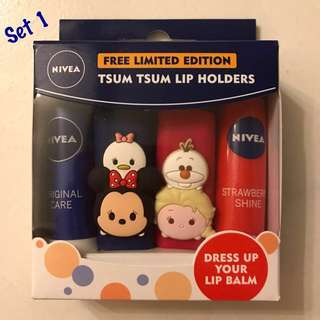 Tsum Tsum Limited Edition Lip Holders