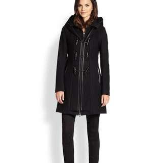 Mackage Steffy Wool Black Coat XS