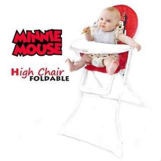 Disney Foldable High Chair