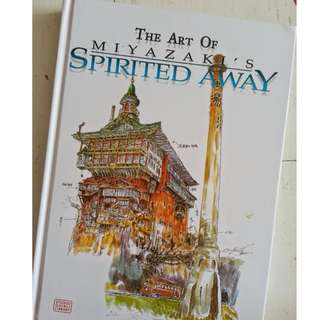 STUDIO GHIBLI The Art of Spirited Away by Hayao Miyazake