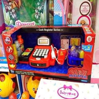 Cash Register Toy Set