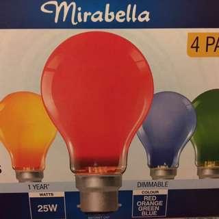 Light Bulb Colored