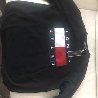 Tommy Hilfiger Black Jumper