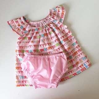 Pink Top (handmade)