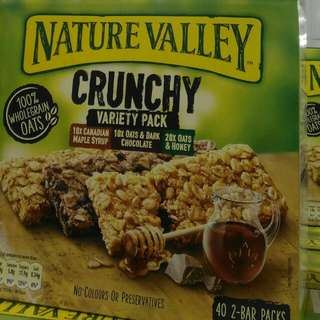 天然谷綜合燕麥棒 nature valley Granola bar variety pack