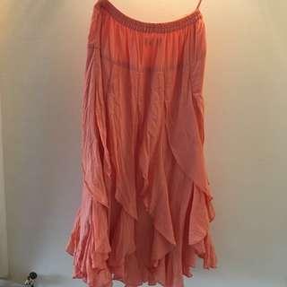 Frill skirt