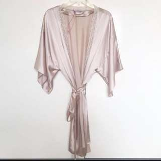New! Stella McCartney 100% silk robe