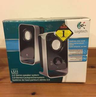 BN Logitech Speakers, collect before 5th December