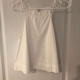 White Wilfred Little Tank Top