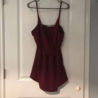 Urban Outfitters Red Romper