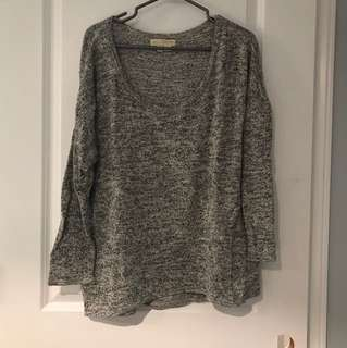 Urban Outfitters Grey Top