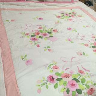 Preloved bedcover EVEZARY from korea