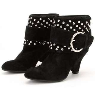ALDO Studded Ankle Boots - Size 8