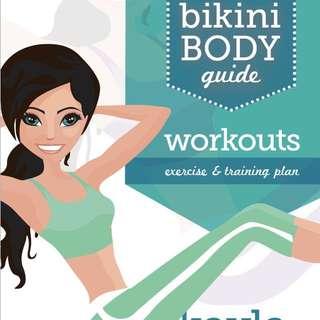 KAYLA ITSINES BBG BIKINI BODY EXERCISE AND TRAINING GUIDE