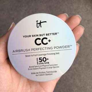 It cosmetics CC+ pressed powder